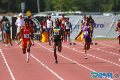 Class 3A - Running Event Prelims - 100m Dash