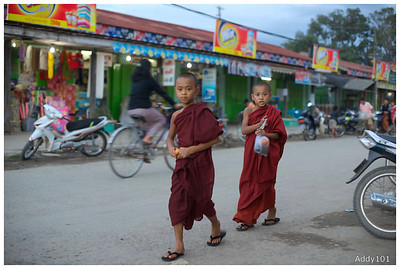 Burma 5: Monks and Nuns