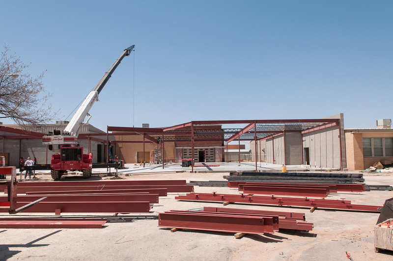 Elementary Renovation, Addition to Auditorium & Band Hall, 4-19-2013