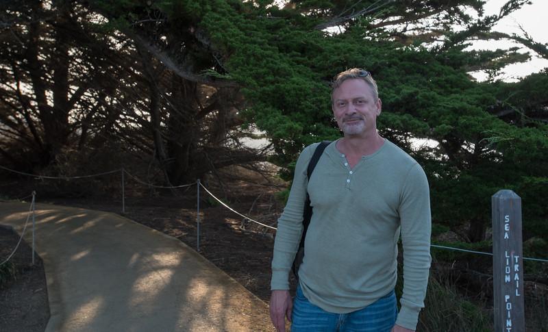 Steve at Point Lobos