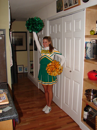 Kate Cheerleading - Junior Year