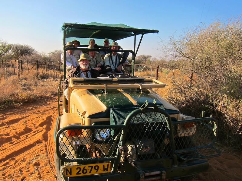 Volker's Vehicle, Etango Guest Farm, Namibia