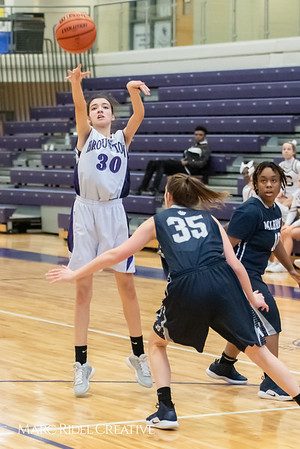 Broughtongirls JV basketball vs Millbrook. February 14, 2019. 750_7017