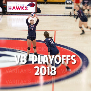Prairie Volleyball Playoffs 2018