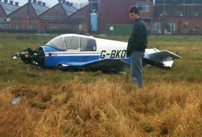 Merlin G-BCOV Crash