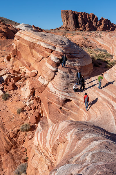 Fire Wave at Valley of Fire State Park in Nevada