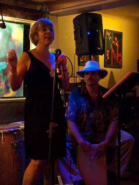 2009.06.27 Lorraine Gervais Quartet @ Coppertop Lounge, Grass Valley