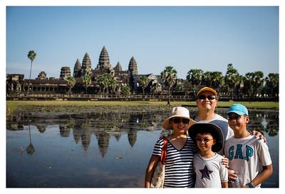 Siem Reap Family 2014