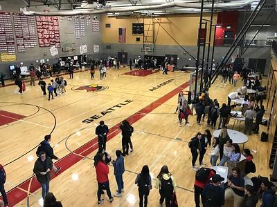 2018-19 Upper School Club Fair