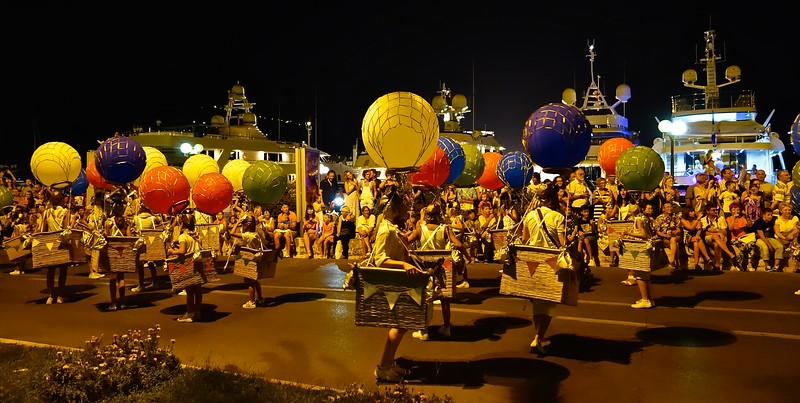 part of the Kotor Carnival Parade