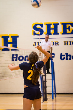 Fall2014- Shelby JHS 8th Grade Volleyball