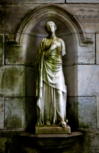 statue, Green-Wood cemetery