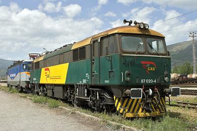 BZK (БЖK) Bulgarian Railway Company
