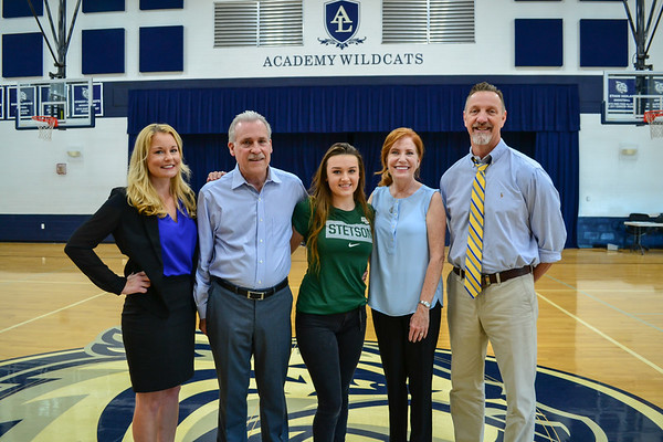 Athletics Signing Ceremony for Erin Weisbond - Cheerleading