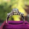 1.47ctw August Vintage Diamond Fancy Ring 18