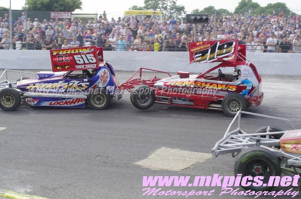 BriSCA F1 European Weekend, Sunday support Races, 21 July 2013