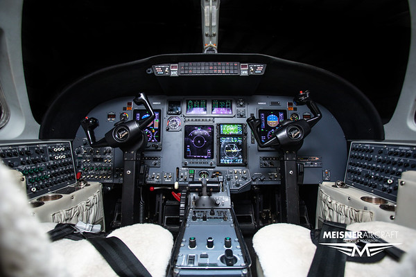 Citation Encore N888GD Interior (High Res w/Logo)