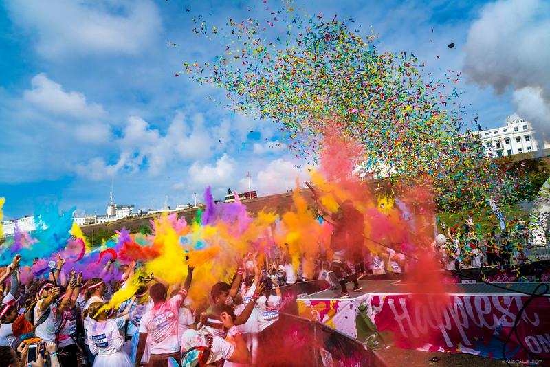 Brighton Colour Run - 23rd September 2017