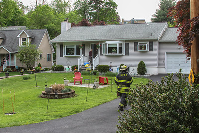 5-17-18 Kitchen Fire, Sprout Brook Road,  Photos By Bob Rimm