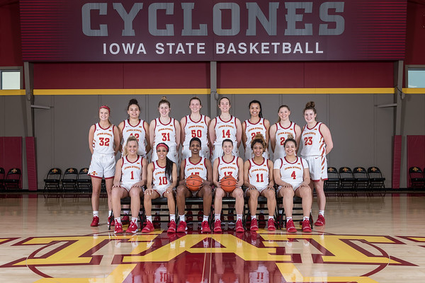 WBB Team Photo 02/27/20