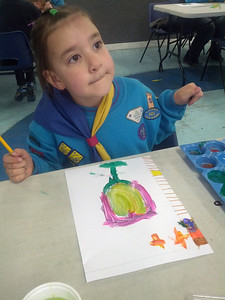 Beavers Art Night