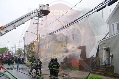 Hempstead F.D. Working Fire   Terrace Ave. 5/5/21
