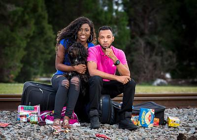 Wene & Jr Announcements Portraits