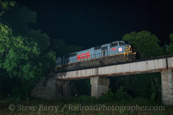 Kansas City Southern Ginger Blue, Missouri June 15, 2014