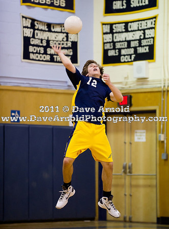 5/9/2011 - Boys Varsity Volleyball - Xaverian vs Needham
