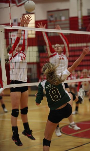 Volley Ball Seniors Wasilla vs Colony 2012