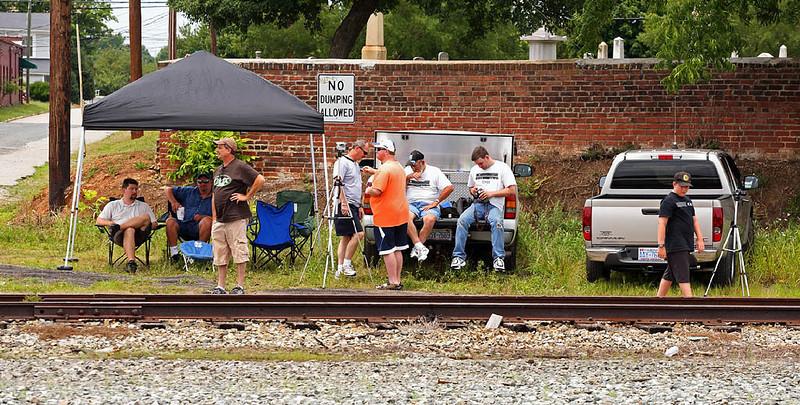 Waiting on Southern RY #630 Salisbury,NC