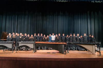 Percussion Guest Artist Concert F/ Ivan Trevino, Feb 19, 2019