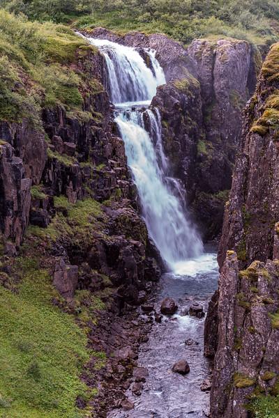 Gufufoss Falls