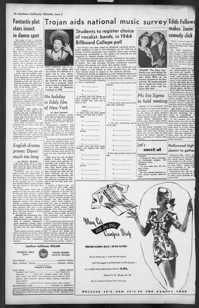 The Trojan, Vol. 35, No. 126, June 02, 1944