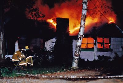 Derry, NH 8/1988 - House Fire