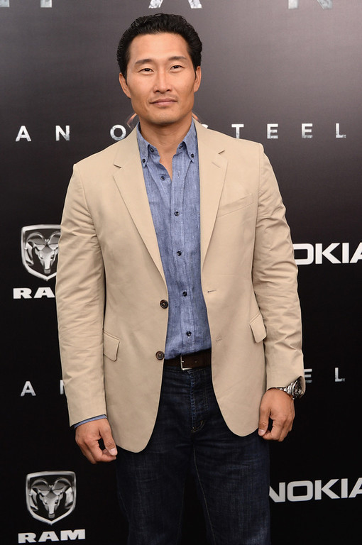 ". Actor Daniel Dae Kim attends the ""Man Of Steel\"" world premiere at Alice Tully Hall at Lincoln Center on June 10, 2013 in New York City.  (Photo by Andrew H. Walker/Getty Images)"