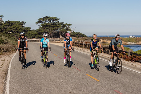 Pebble Beach Cycling, Sept 2016
