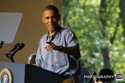 Obama Boone Visit