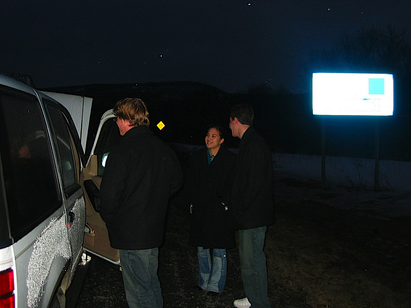 8. Dead car on ex 161.JPG