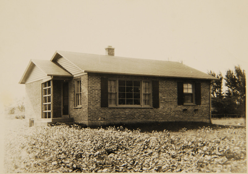 Grandma and Opa's first house: Bought June 1, 1946, in Palatine, Illinois.
