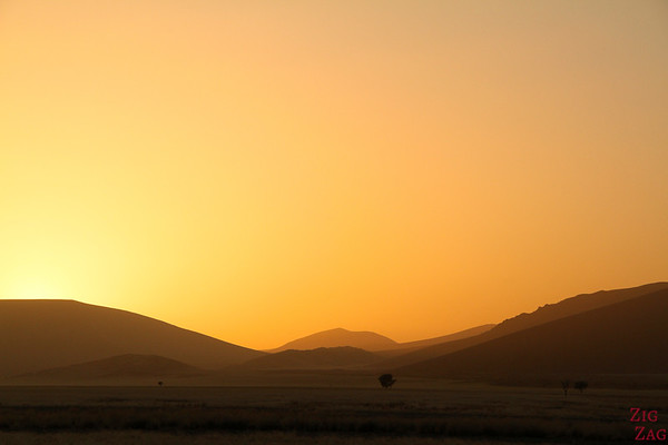 Sunrise at dune 45, Sossusvlei Namibia photo 1