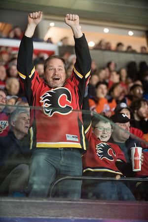Flames vs Oilers