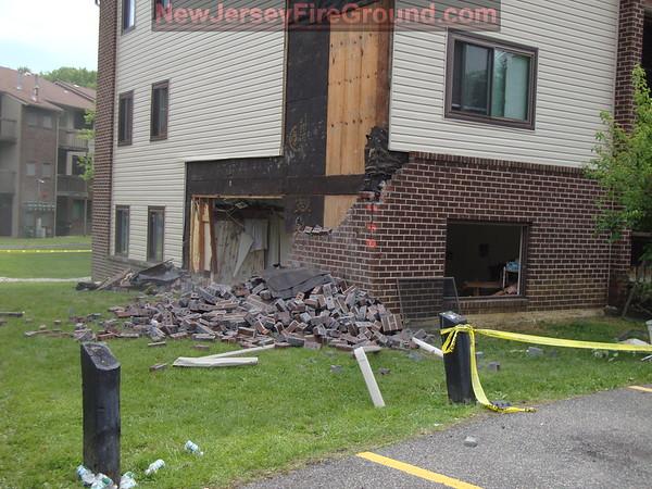 5-21-2010(Gloucester County)DEPTFORD Aspen Hill-Vehicle vs. building