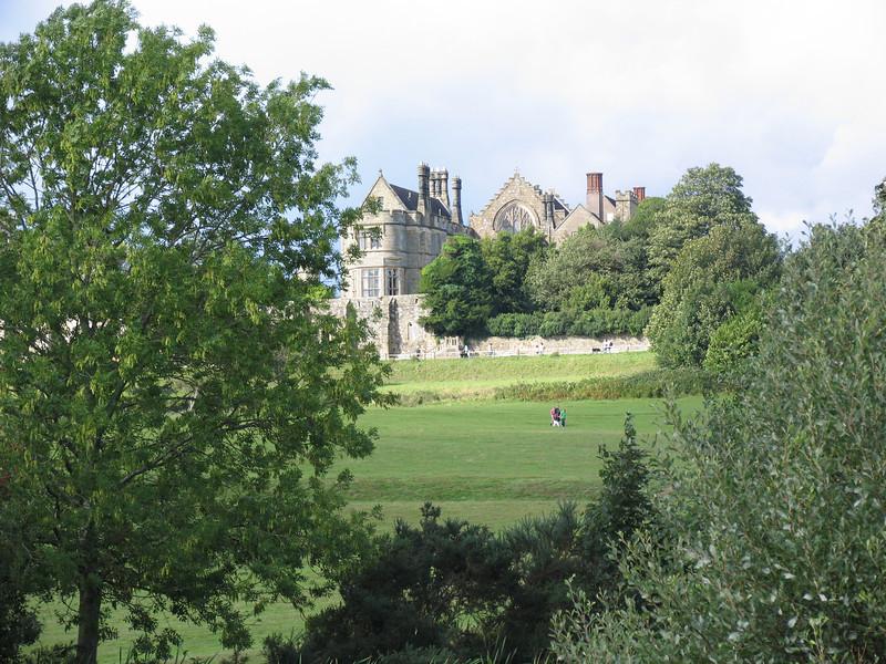 Battle Abbey from the battlefield walk