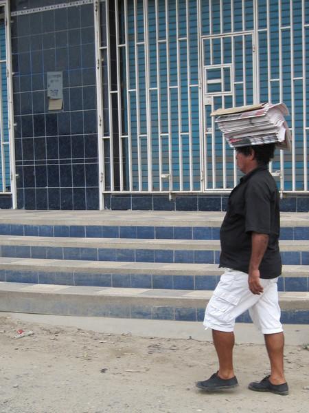 Peruvian Border Worker