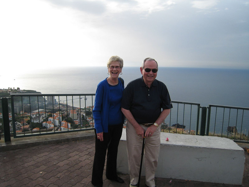 Funchal, Madeira - Linda and Phil
