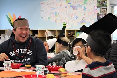 LS Kindergarten Thanksgiving Feast 11-19-18