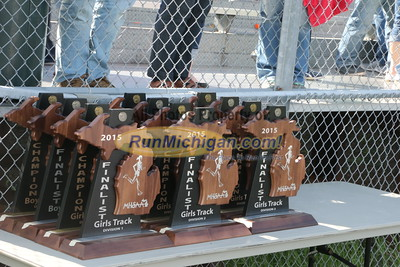 UP Girls' Awards - 2015 MHSAA TF Finals