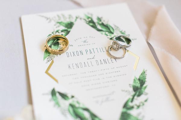 Dixon & Kendall   wedding