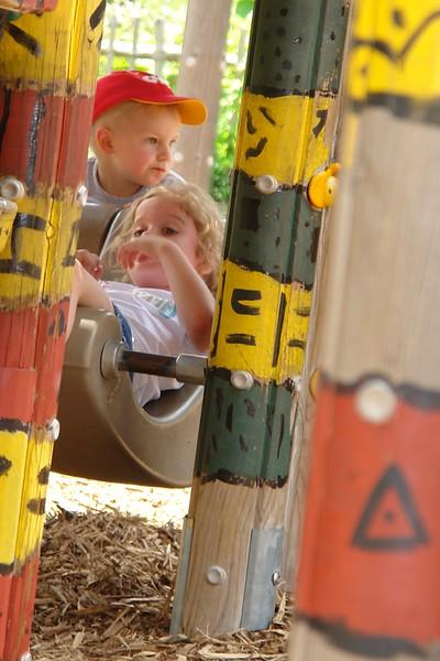 Maggie at the playground - 4